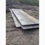 Дорожные жби плиты всех типов и размеров б/у