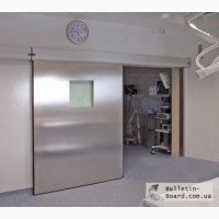 Двери для чистых помещений (медицинские)