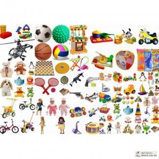 Большой ассортимент детских игрушек