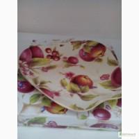 Тарелка яблоко