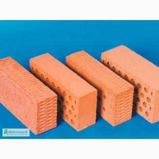Стройматериалы оптом и розница : Кирпич строительный (рядовой) М100, М 75, М125 красный