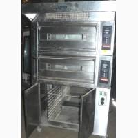 Подовая печь хлебопекарная бу + расстоечный шкаф
