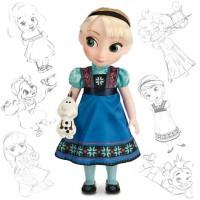 Кукла Эльза аниматор коллекция