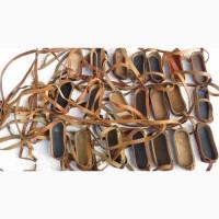Кожаный ремешок - бленда на Советский армейский бинокль, пыльник-дождевик на бинокли СССР