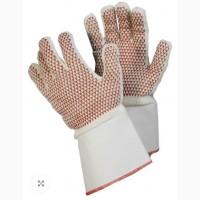 Перчатки TEGERA термостойкие х/б с точкой