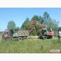 Удаление пней, корчевание пней, вывоз веток, листьев Киев. 067 40