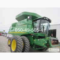 2011 г. 2WD 1325 мч. комбайн Джон Дир John Deere 9670 STS б/у купить цена