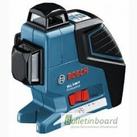 Аренда (прокат). Нивелир лазерный Bosch GLL 3-80 P