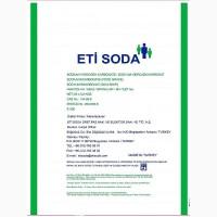 Сода пищевая (двууглекислый натрий, бикарбонат натрия), ETI SODA, Турция мешки 25 кг
