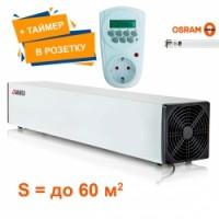 Облучатель - рециркулятор воздуха бактерицидный РПК - 30-BT (таймер / в розетку)