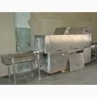 Тоннельная Посудомоечная Машина б/у.1