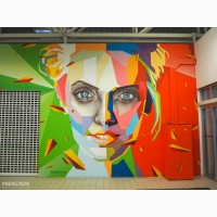 Художественная роспись стен и граффити оформление в Крыму