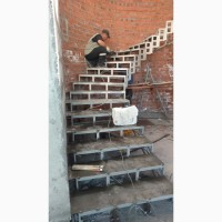 Радиусные лестницы.Броневик Днепр