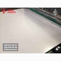 Гладкий лист полимерный белый оцинкованный 0, 7 RAL 9003
