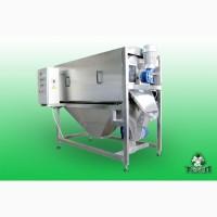Машина барабанно-щеточная МТ-1500 для чистки ядер семян тыквы