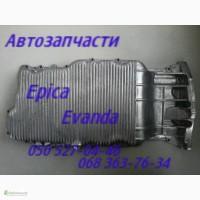 Запчасти Шевроле Эванда поддон, картер двигателя, автозапчасти. Chevrolet Evanda