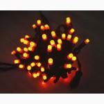 Светодиодная нить, световые нити, праздничная подсветка домов