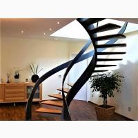 Лестницы металлические винтовые