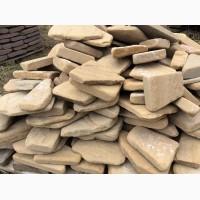 Окатанный камень песчаник природный