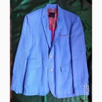 Пиджак Zara Зара льняной мужской размер М (48). Лен. Льняной