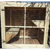 Вольер для животных из двух частей содержания и передержка котов