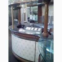 Барная стойка б/у, станция бармена б/у с встроеным холодильным оборудованием