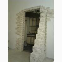 Отделка - штукатурка. шпатлевка оконных и дверных проемов и откосов