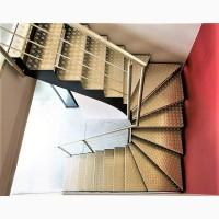 Лестницы металлические маршевые