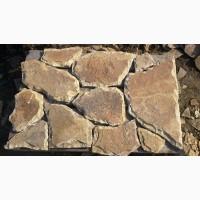 Камень песчаник природный со сколом