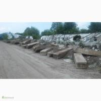 Блоки фундаментные жби б/у куплю Киев самовывоз