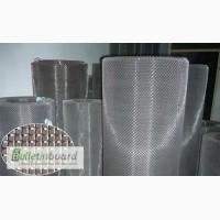 Сетка тканая н/ж 25х2 мм сталь 12Х18Н10Т Гост-3826 ширина 1 м
