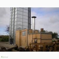 Зерносушилка на дровах - 7 т/ч по кукурузе (24%-14%)