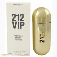 Carolina Herrera 212 VIP парфюмированная вода 80 ml. (Тестер Каролина Херрера 212 Вип)