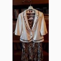 Продам женское платье-костюм б/у