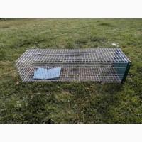 Собаколовка. Клетка, живоловушка для отлова собак. Живоловка 1, 5 м