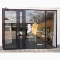 Алюминиевые двери входной группы. Качественные замки. Гарантия 5 лет
