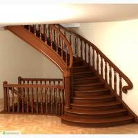 Деревянные лестницы, лестницы из дерева Кривой Рог