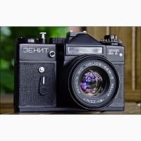 Куплю фотоаппараты, объективы СССР, импортные