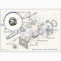 Муфта привода Т-16МГ (СШ20.22.525) ХЗТСШ