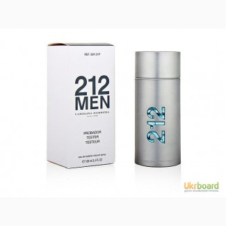 Carolina Herrera 212 Men туалетная вода 100 ml. (Тестер Каролина Херрера 212 Мен)