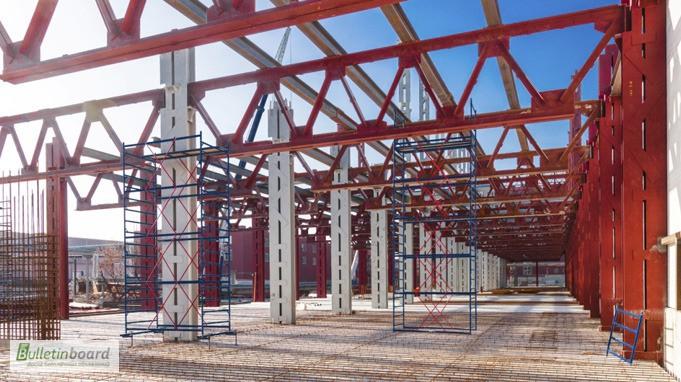 Фото 4. Изготовление металлокаркасов, быстровозводимых зданий, складов, павильонов, ангаров