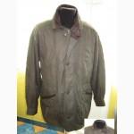 Большая утеплённая кожаная мужская куртка. Лот 262
