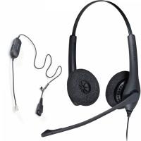 Snom D712 + Jabra Biz 1500 Duo QD, комплект: sip телефон + гарнитура