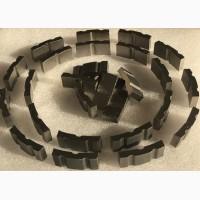 Напайка алмазных сегментов