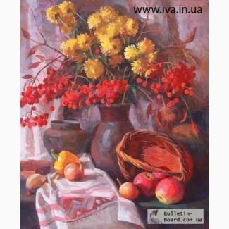 Обучение взрослых живописи натюрморта в Днепропетровске