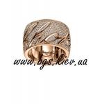 Кольца Chopard из белого и желтого золота с бриллиантами