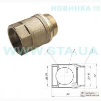 Украинский байпас с обратным клапаном для гравитационого отопления