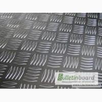 Алюминиевый лист рифленый квинтет 4мм 4х1000х2000мм ГОСТ 5754 Н144 марка АМГ3