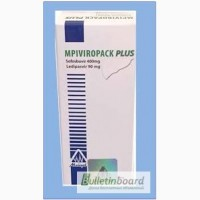 Продам MPIViropack PLUS 28 (софосбувир 400 мг + ледипаcвир 90 мг), Египет