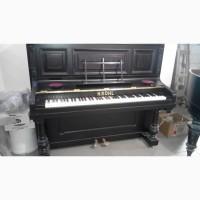 Фортепиано (пианино) отреставрированное старинное немецкое